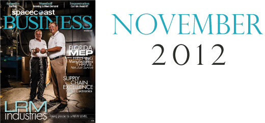 SpaceCoast Business - Contents, November 2012